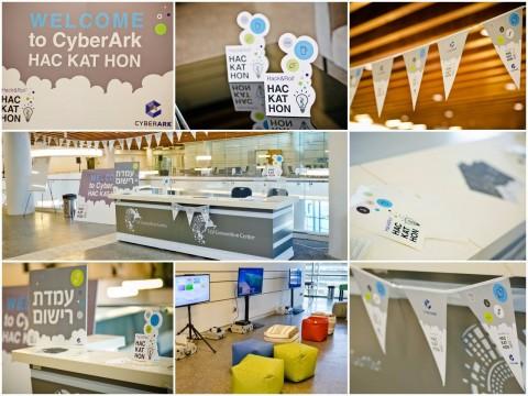 מיתוג אירוע Hackathon Cyberark