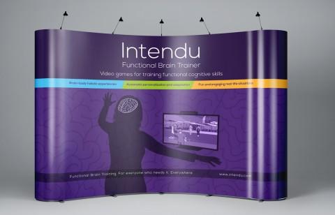 עיצוב ביתן לתערוכה עבור חברת intendu