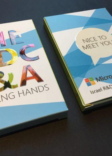 עיצוב מארז קלפים Microsoft