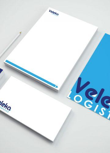 Veleka – מיתוג חברת שילוח בינלאומית