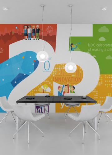 עיצוב קיר Microsoft